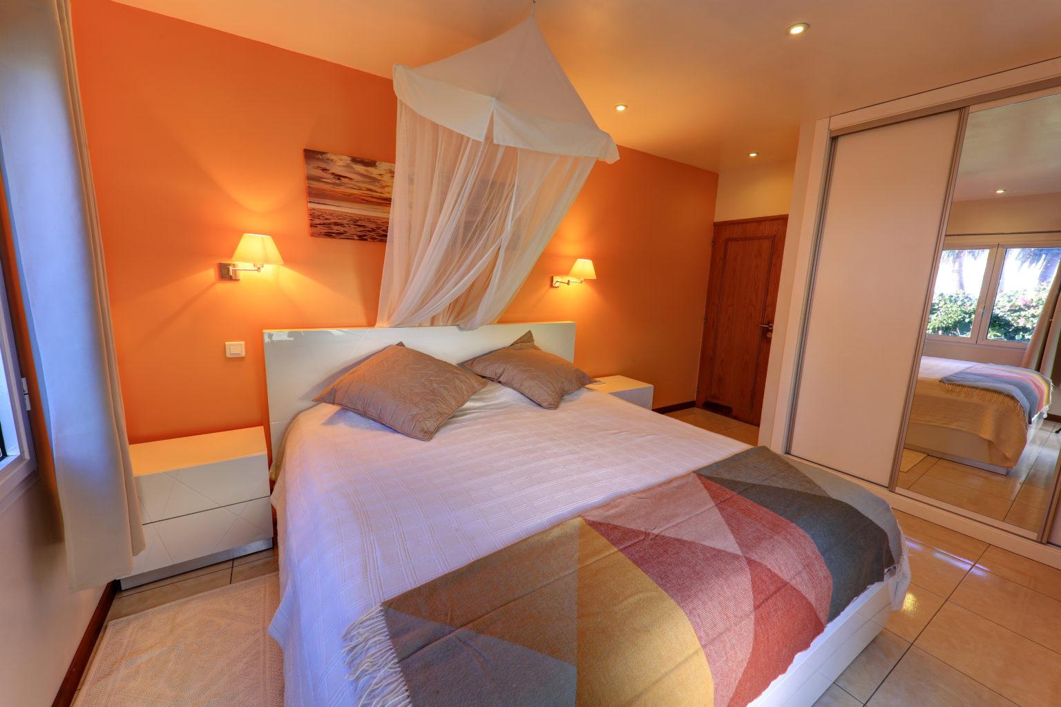 Villa Les Raisiniers - Beachfront Villa for Rent St Barth with Pool - Bedroom
