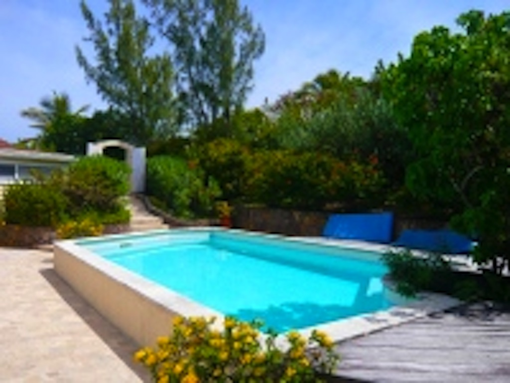 Lin pool garden - Old Villa Rental in Pointe Milou St Barth with Pool - Pool