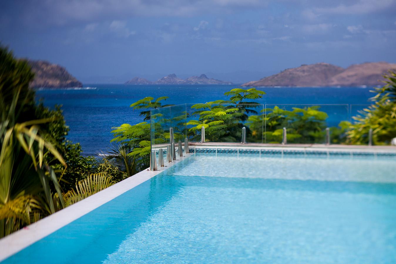 Villa Luz - Privacy Villa for Rent St Barth with Maid Service - Pool