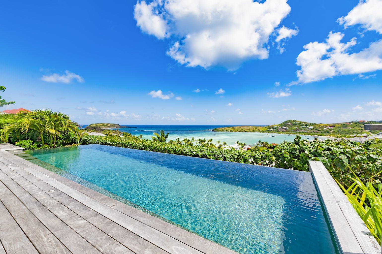 Villa Summer Breeze - Breezy Villa for Rent St Barth with Small Fitness Equipment - Ocean view