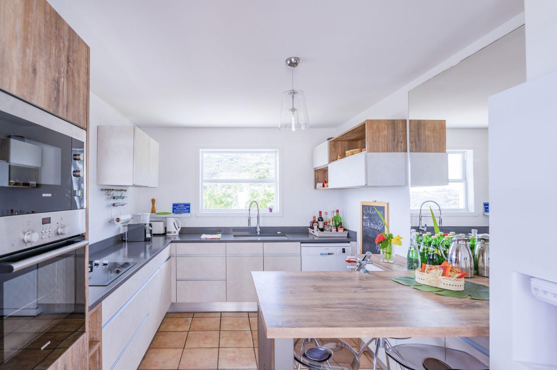 Villa Summer Breeze - Breezy Villa for Rent St Barth with Small Fitness Equipment - Kitchen