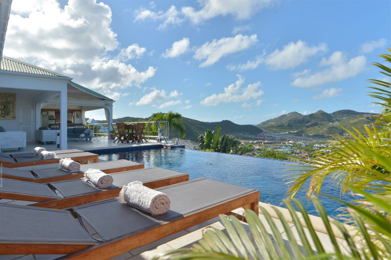 Villa Mystic - Seaview Villa for Rent St Barth with Panoramic View from Each Room - Pool