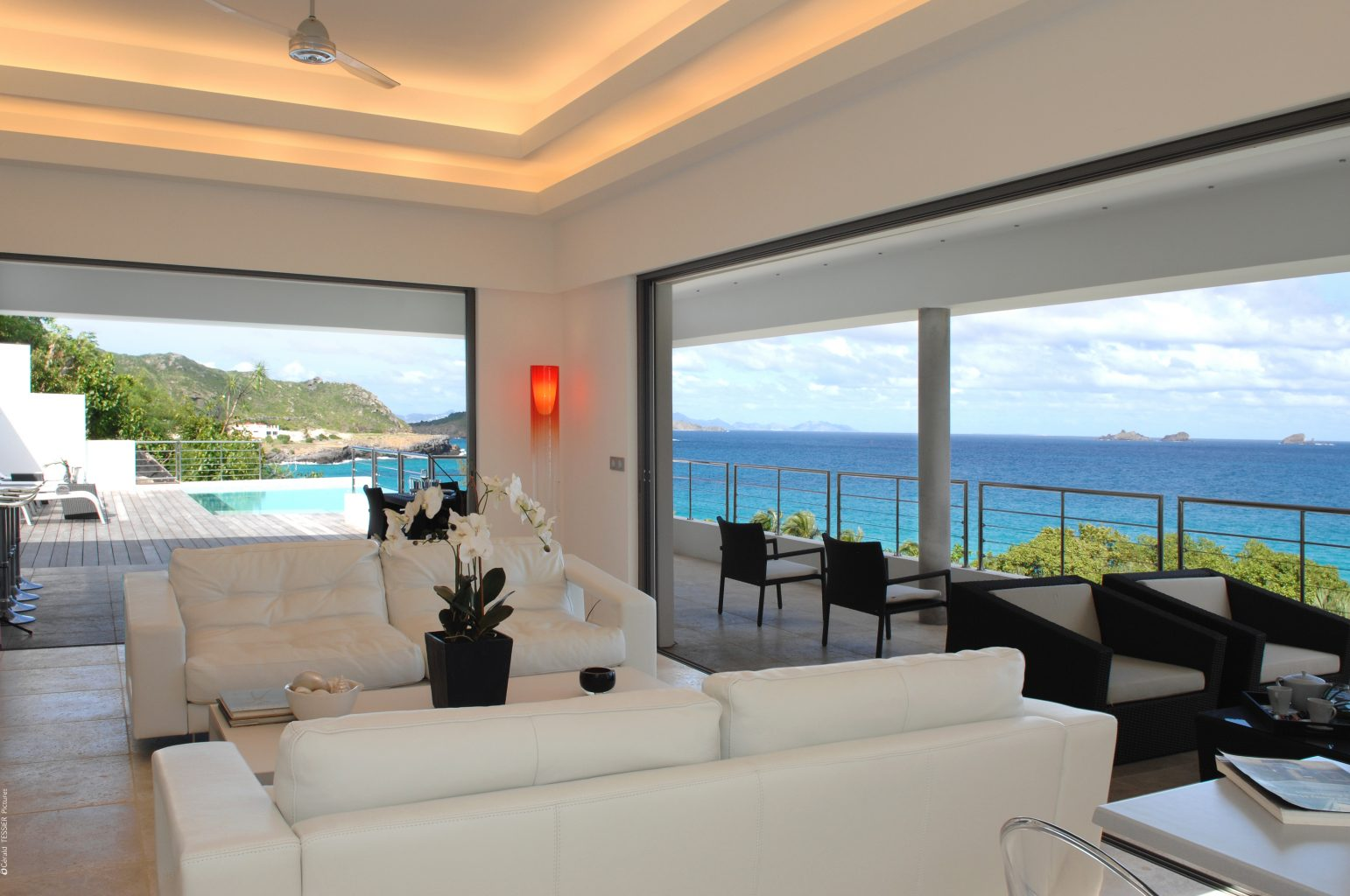 Villa Matajagui - Spacious and Modern Villa for Rent St Barth Located Few Minutes Away from Bar and Restaurants - Main Area