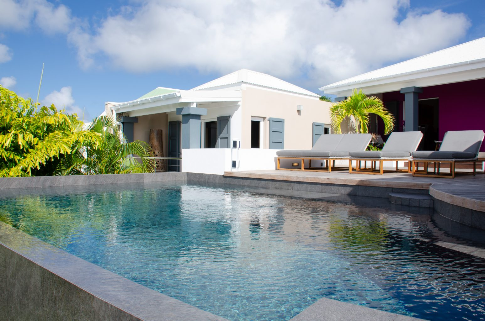 Villa Vague Bleue - Shopping Close by Villa for Rent with Large Pool - Outside View