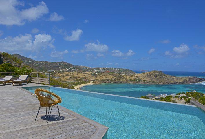 "Villa Lagon Bleu - Privacy Villa for Rent St Barth ""Domaine du Levant"" - Ocean view"
