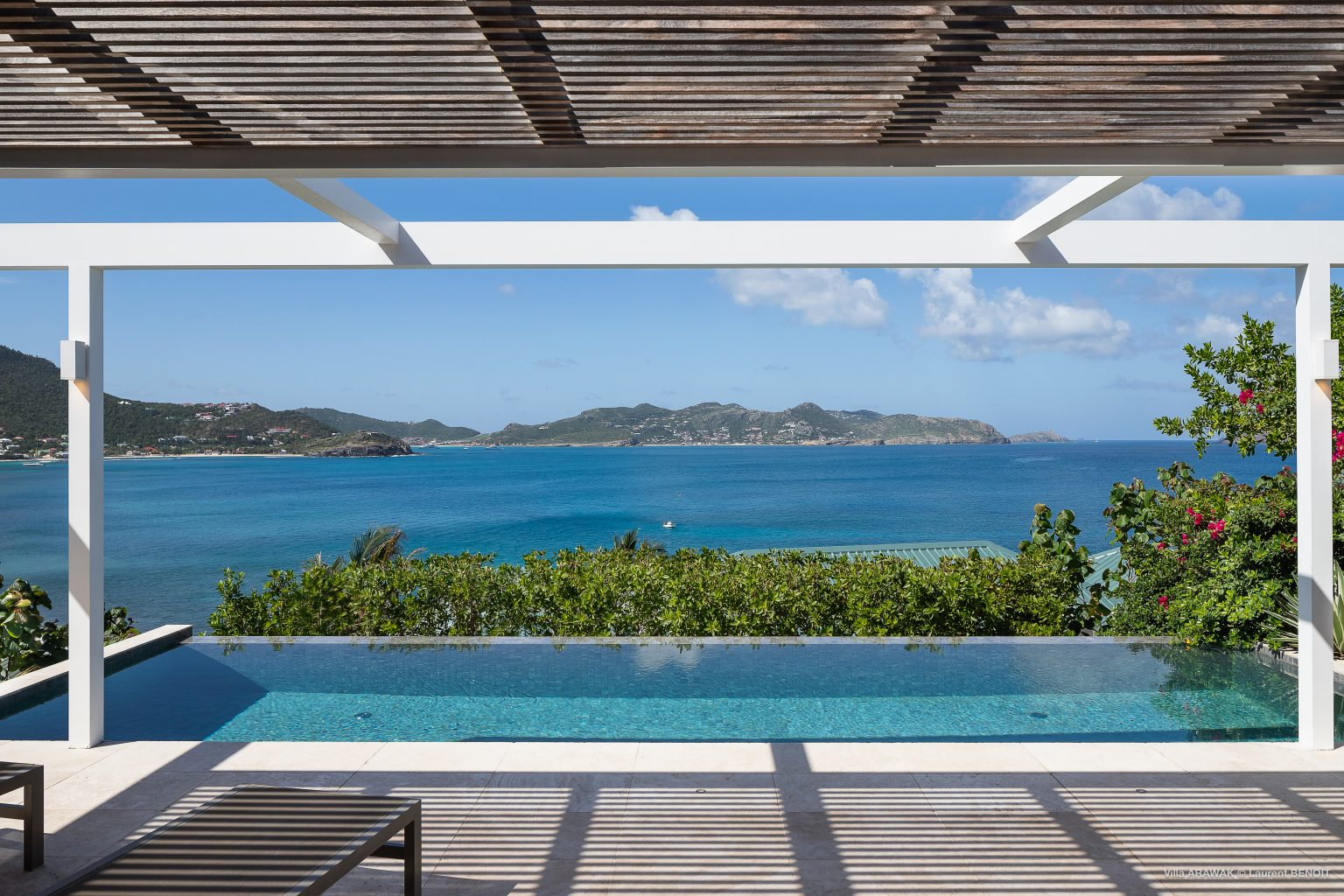 Villa Arawak - Modern and Elegant Villa for Rent St Barth Pointe Milou - Ocean View