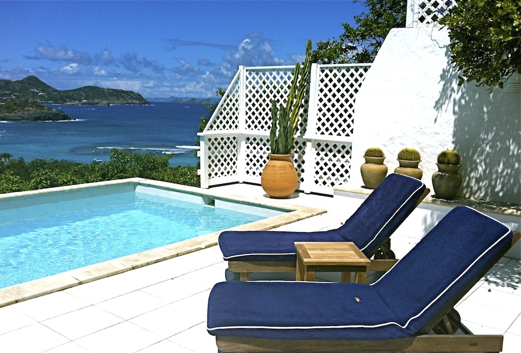 Lorient Sunset - Open Villa for Rent St Barth with a Large Terrace Perfect for Honeymooners - Seaview