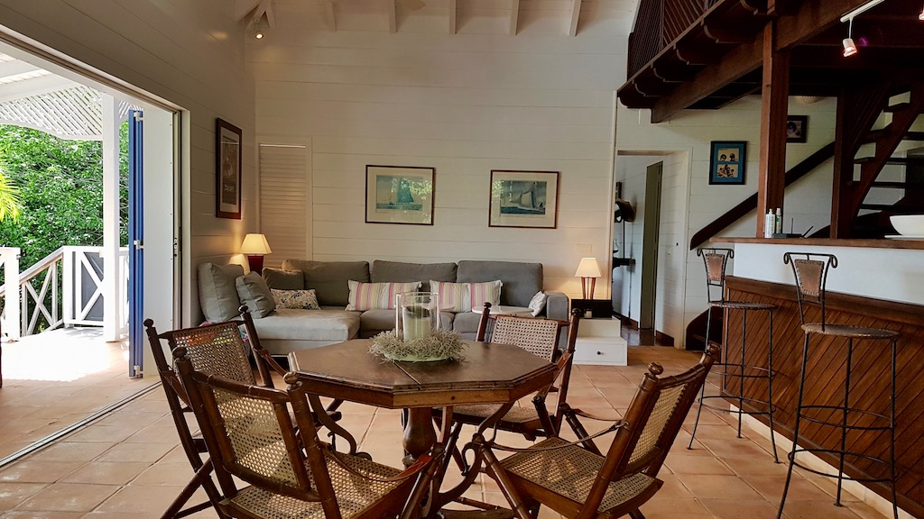 Villa Kermao - Villa for Rent with Pool in St Barth Close to Hotels and Restaurants - Main Area