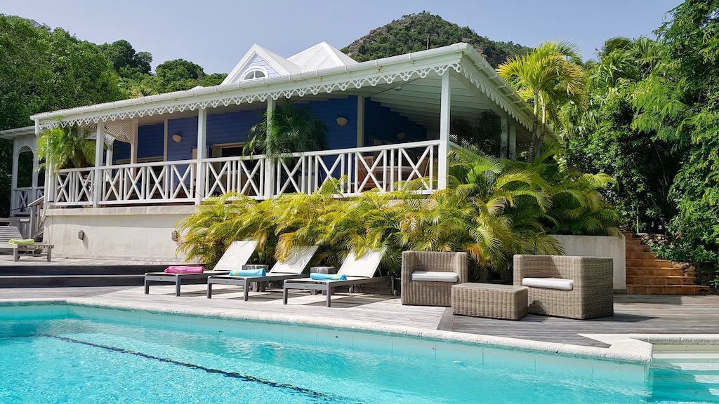 Villa Kermao - Villa for Rent with Pool in St Barth Close to Hotels and Restaurants - Outside View