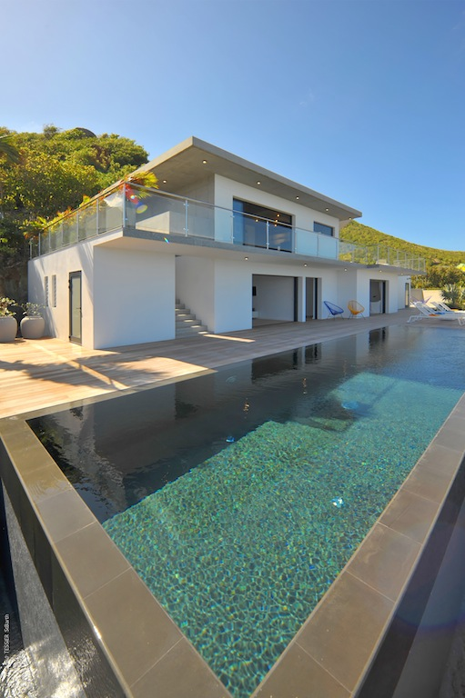 Villa Eranos - Breezy Villa on Two Levels for Rent in St Barth Anse des Lezards - Outside View