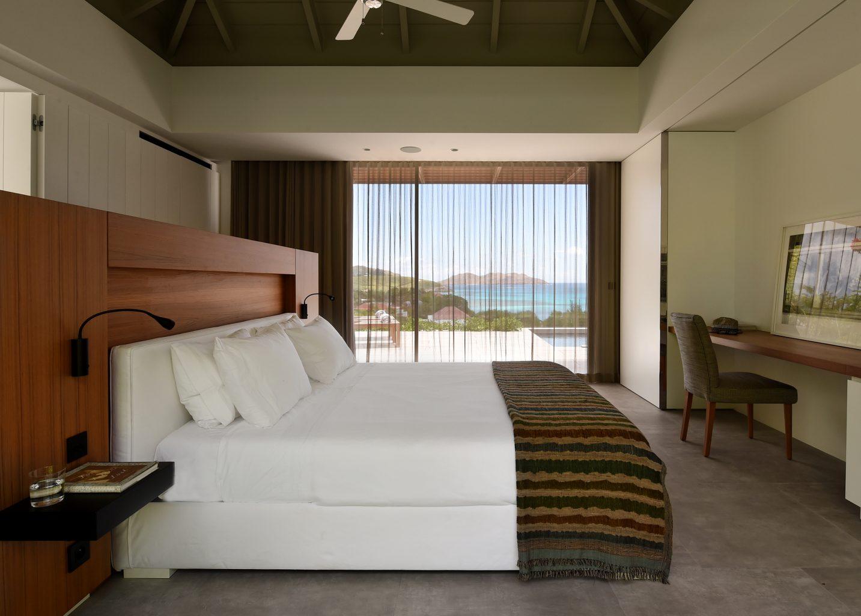 Villa Varuna - Modern and Elegant Villa Rental St Barth St Jean with Heated Pool - Bedroom