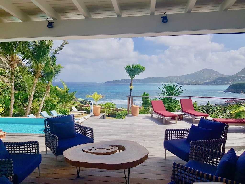 Villa Micalao - Charming Creole Villa Rental St Barth Sea View - Sea view