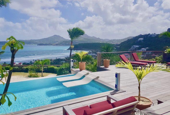 Villa Micalao - Charming Creole Villa Rental St Barth Sea View - Swimming pool