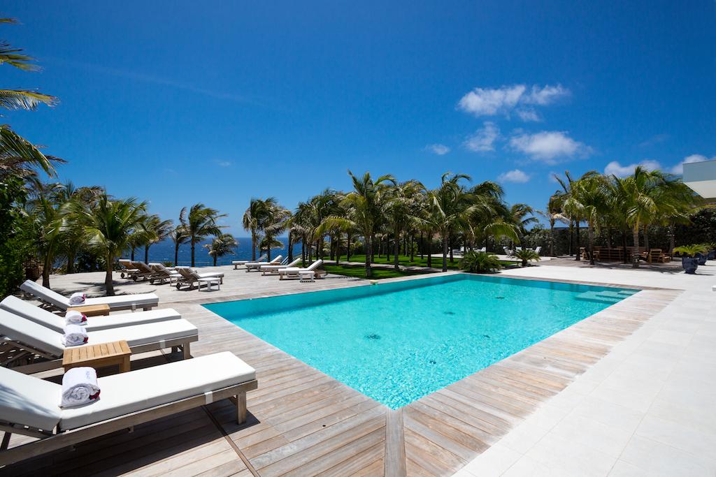 Villa Good News - Luxurious Villa Rental St Barth Sea view - Swimming pool