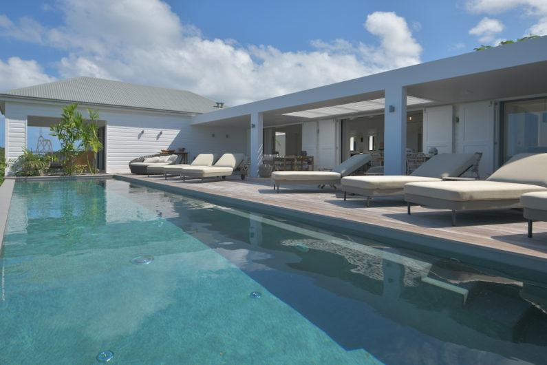 Villa La Romance - Modern Villa Rental St Barth Sea view - Swimming pool