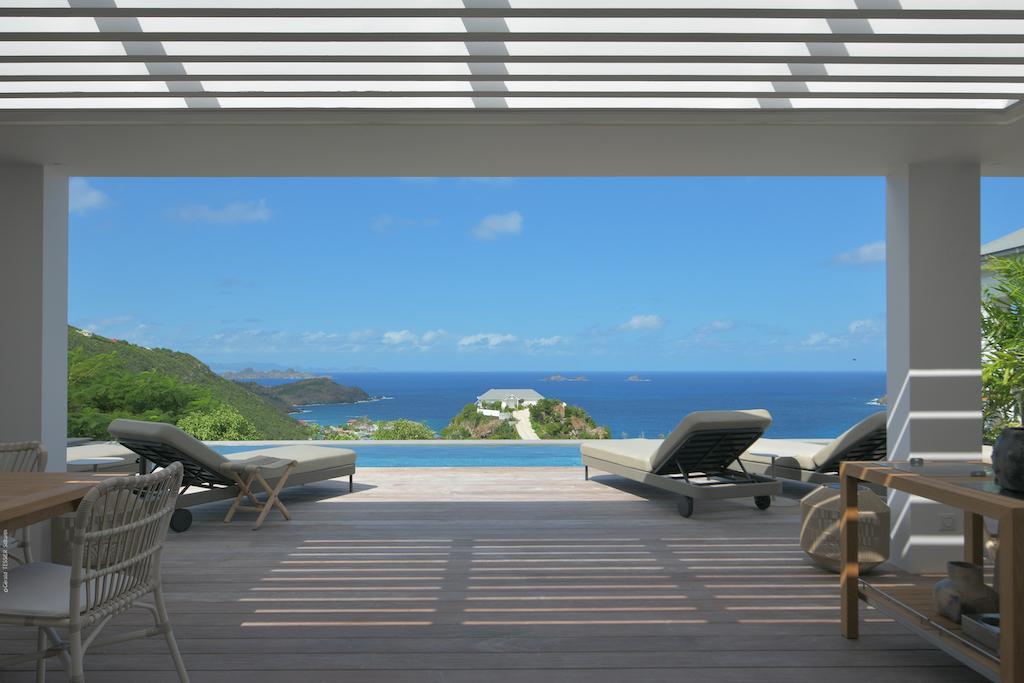 Villa La Romance - Modern Villa Rental St Barth Sea view - Ocean view