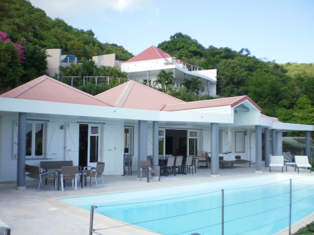 Villa Gouverneur View - Villa Rental St Barth Gouverneur Beach View - Outside view