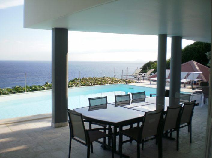 Villa Gouverneur View - Villa Rental St Barth Gouverneur Beach View - Sea view