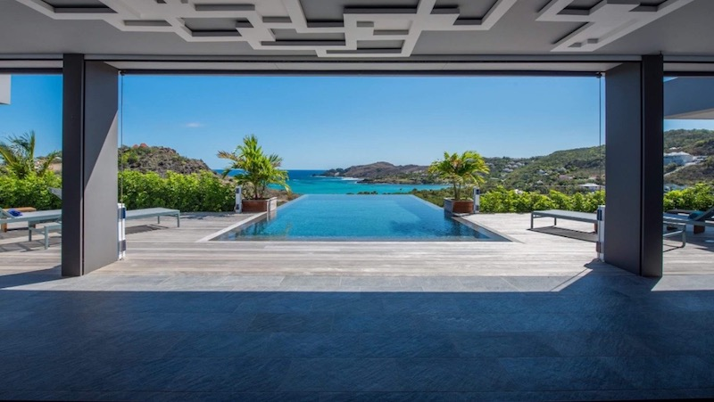 Villa Amethyste - Modern Villa Rental St Barth Sea view - Swimming pool