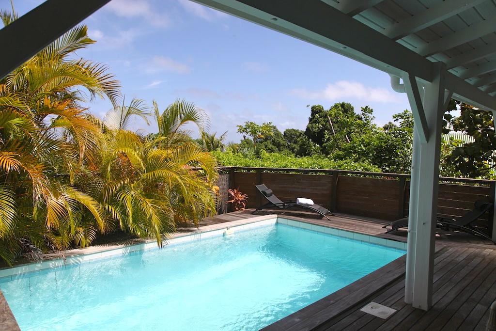 Villa Kena - Charming Créole Villa St Barth Colombier - Swimming pool