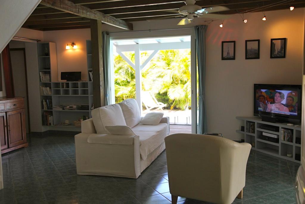 Villa Kena - Charming Créole Villa Rental St Barth Colombier - Living room