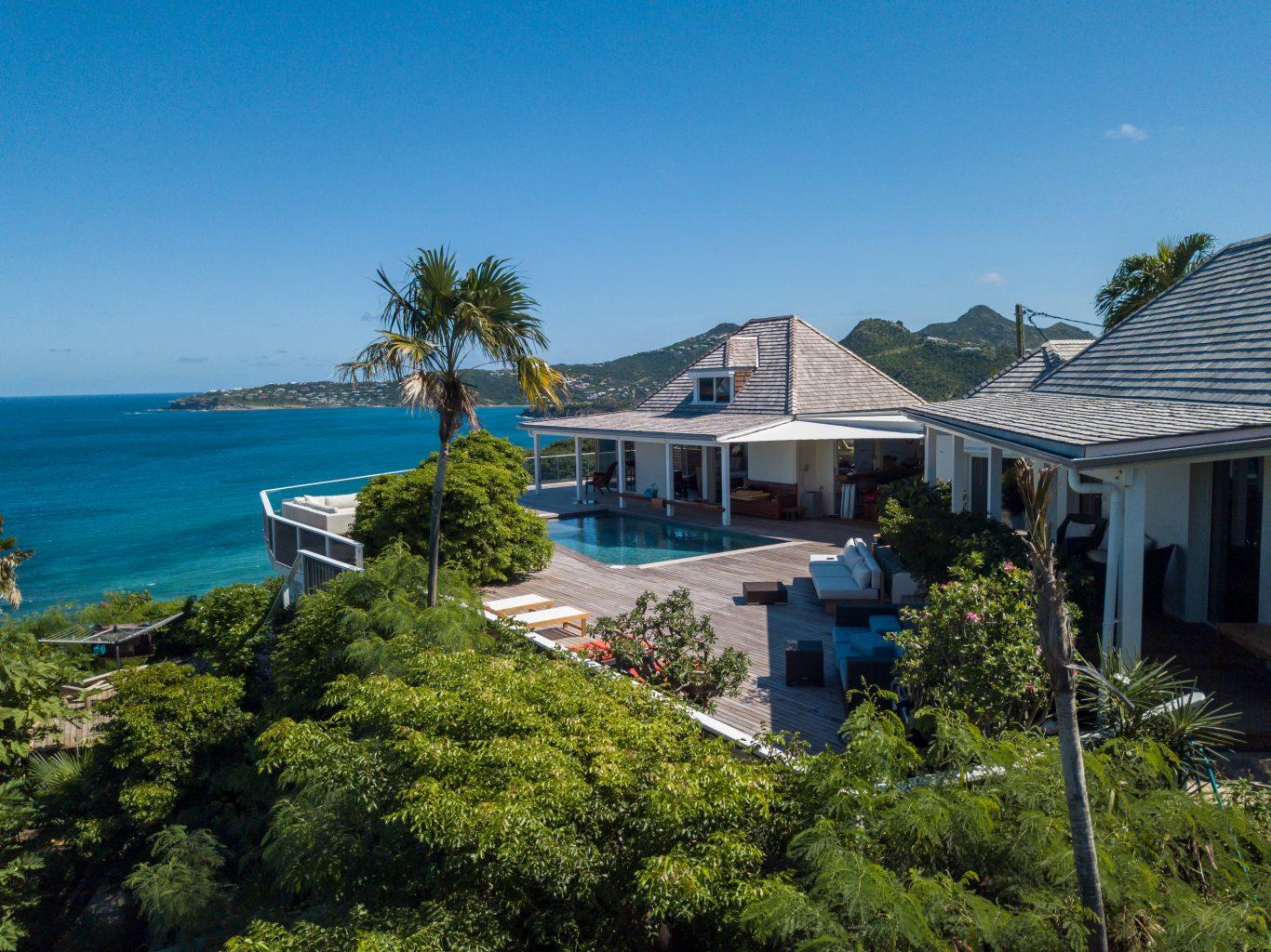 Villa Gaillac - Creole Villa Rental St Barth Sea View - Outside view