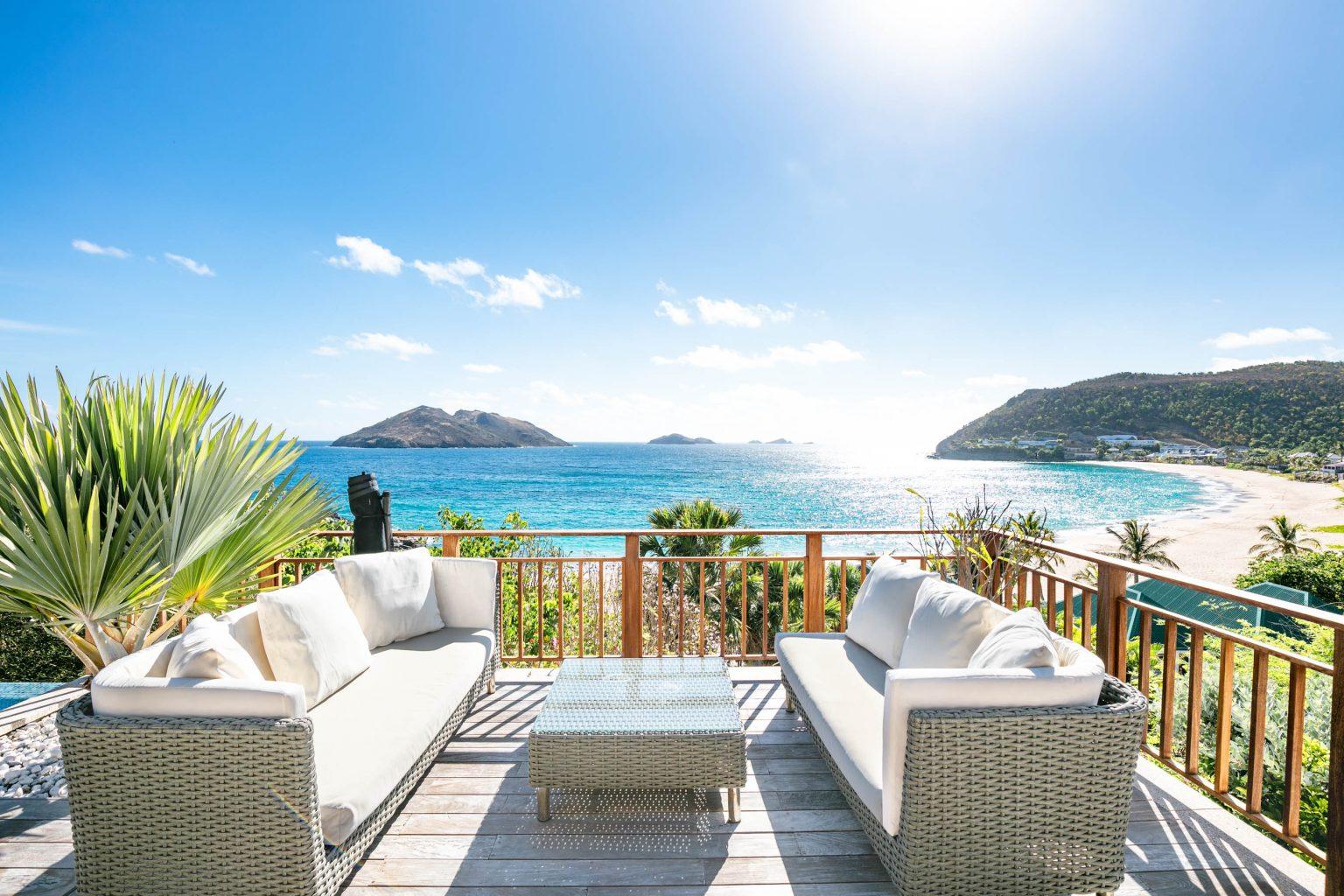 Villa Estrela - Flamands Villa Rental St Barth Sea view - Ocean view