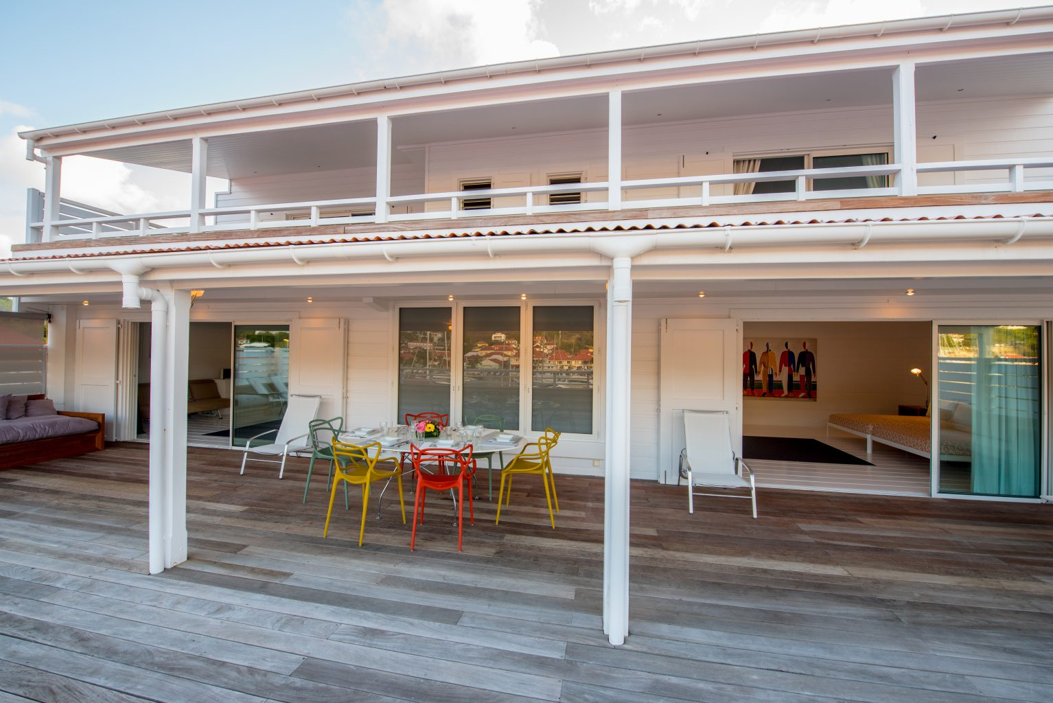 Penthouse Gustavia - Luxury Penthouse Rental City view - Outside view