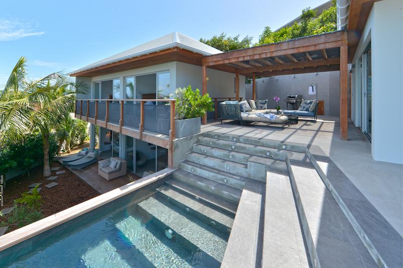 Villa Pelican - Modern Villa Rental St Barth Sea view - Outside view