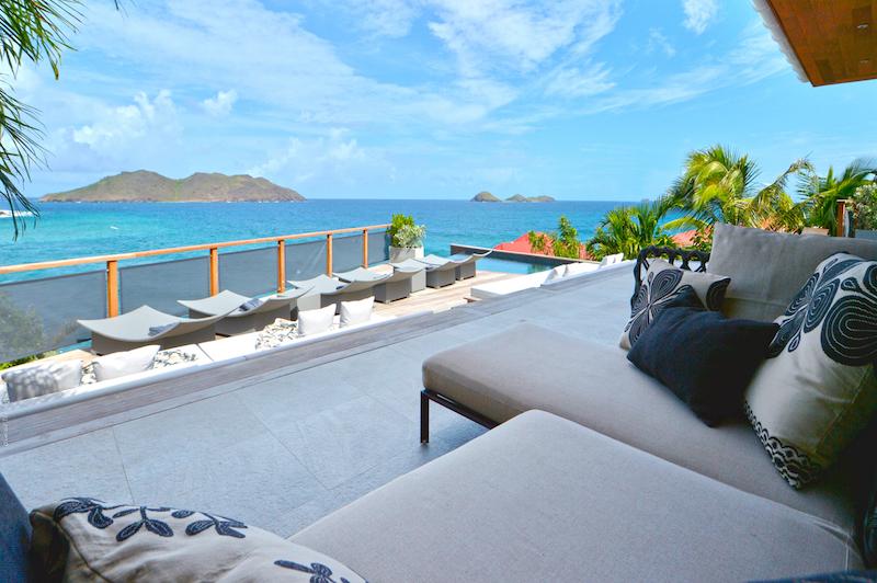 Villa Pelican - Modern Villa Rental St Barth Sea view - Ocean view