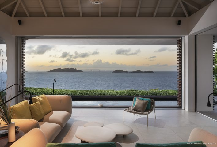 Villa Belamour - Cosy Villa Rental St Barth Sea view - Outside view