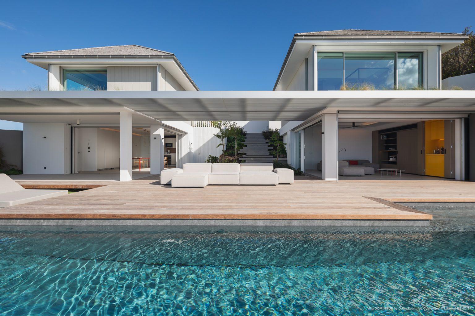 Villa Domingue - Modern Villa Rental St Barth Seaview - Villa & Pool