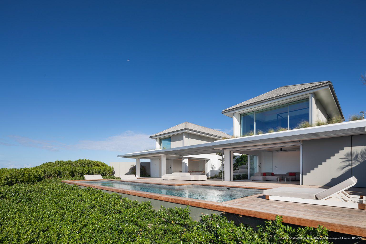 Villa Domingue - Modern Villa Rental St Barth Seaview - Outside view