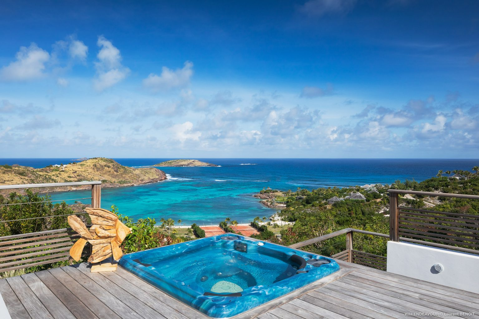 Villa Endeavour - Peaceful Villa Rental St Barth Toiny Seaview - Ocean view and Jacuzzi