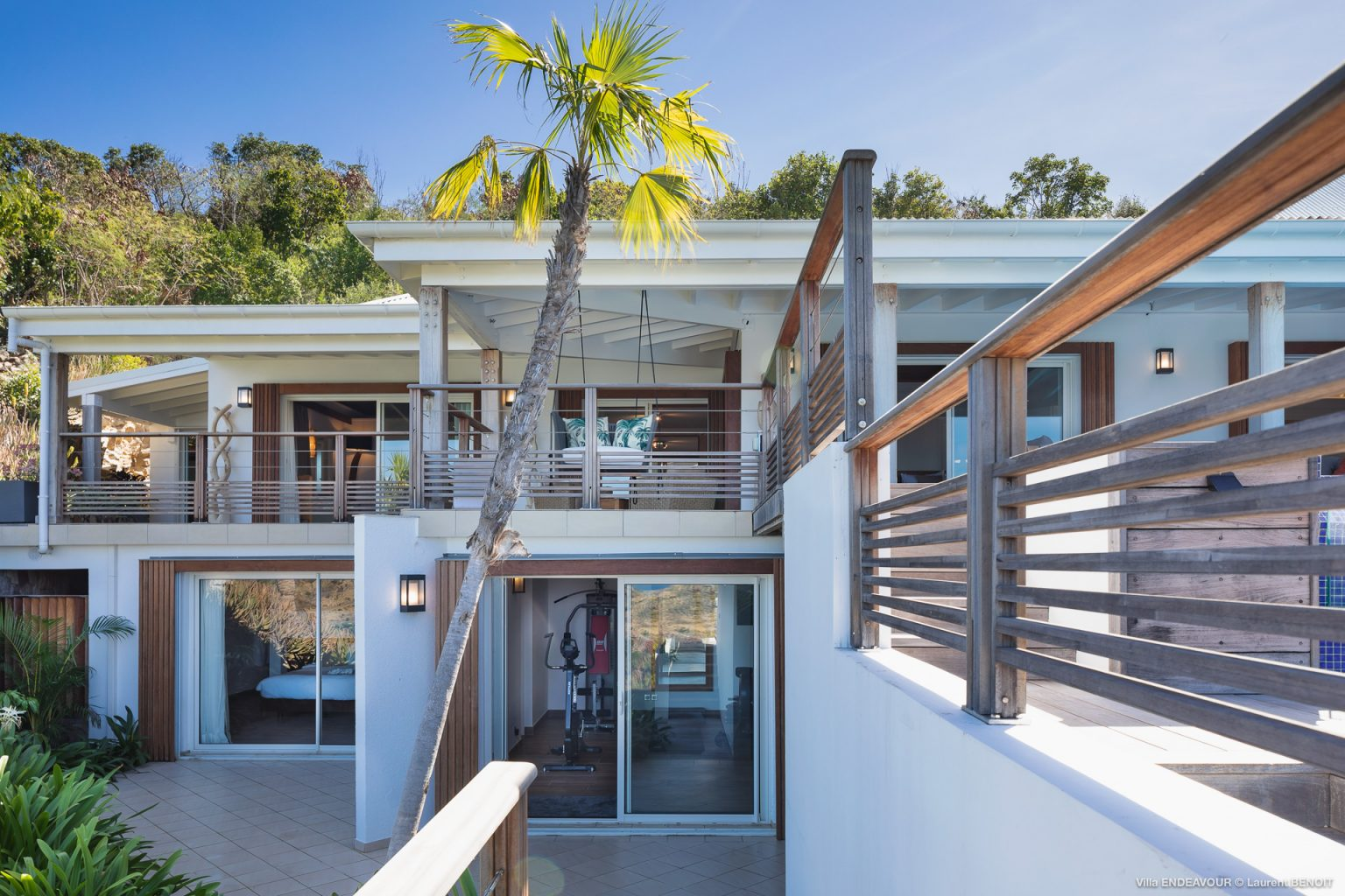 Villa Endeavour - Peaceful Villa Rental St Barth Toiny Seaview - Outside view