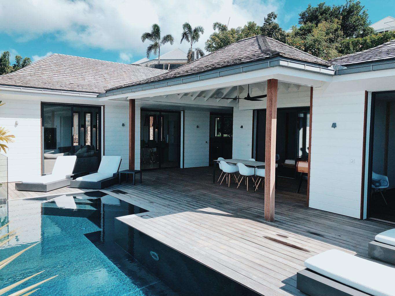 Villa JSA - Modern Villa Rental St Barth Sea view - Pool and Villa view