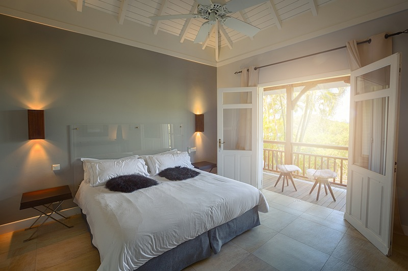 Villa Petit Lagon - Privacy Villa for Rent St Barth with Access to the Beach and Tennis Court - Bedroom