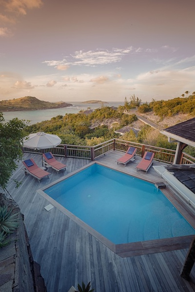 Villa Petit Lagon - Privacy Villa for Rent St Barth with Access to the Beach and Tennis Court - Terrace