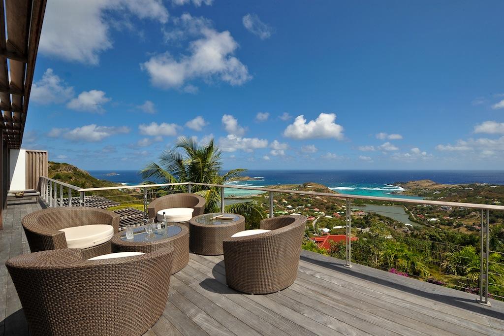 Villa Casa Tigre - 4 Bedroom Villa for Rent St Barth for a Family - Seaview