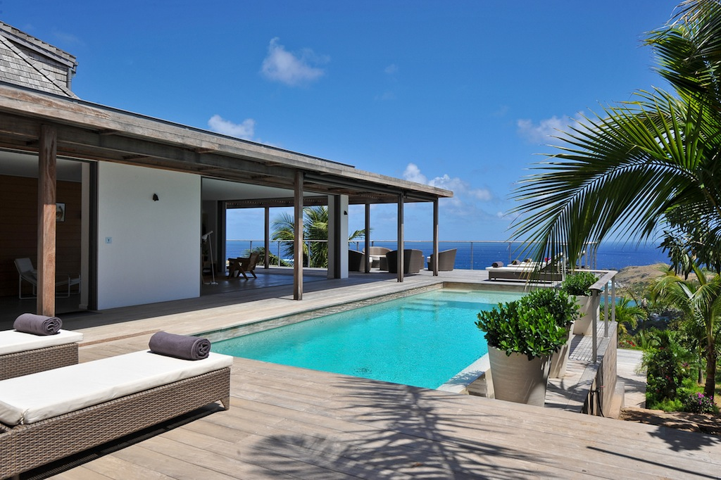Villa Casa Tigre - 4 Bedroom Villa for Rent St Barth for a Family - Pool