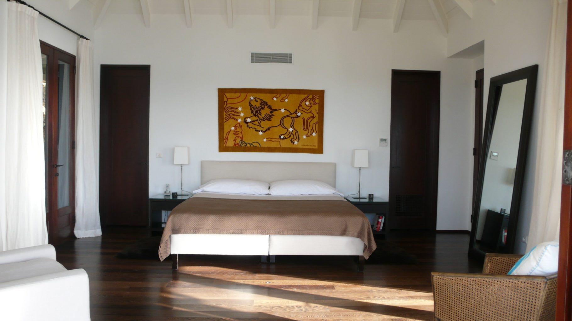 Villa Ella - Modern Villa Rental St Barth Located Few Minutes Away from Beaches, Restaurants and Shops - Bedroom