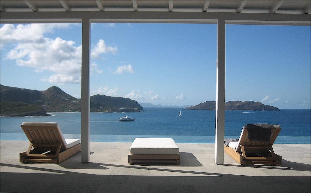Villa Ella - Modern Villa Rental St Barth Located Few Minutes Away from Beaches, Restaurants and Shops - Ocean View