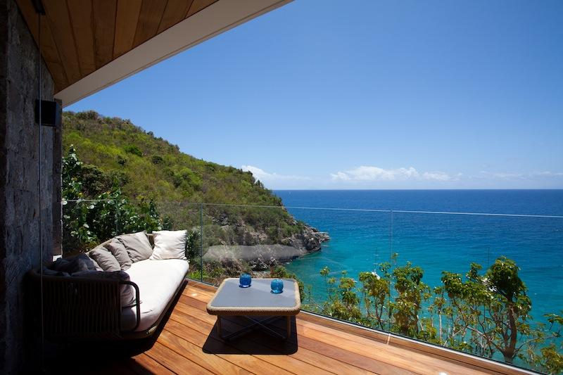 Villa Vitti - Beachfront Villa for Rent St Barth with BBQ - Ocean View