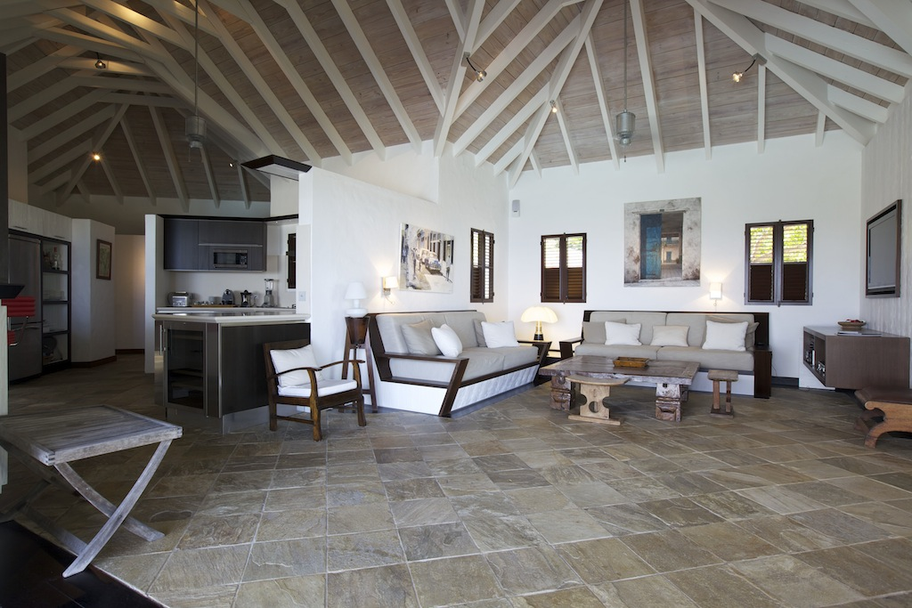 Villa Blue Swan - 4 Bedroom Villa for Rent St Barth Close to Gustavia - Main area