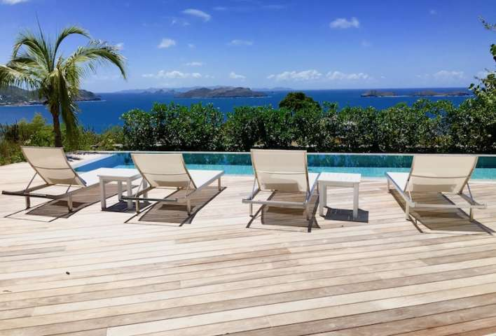 Villa Marie - Isolated Villa for Rent St Barth Perfect for Guests Looking for Privacy and Calm - Pool