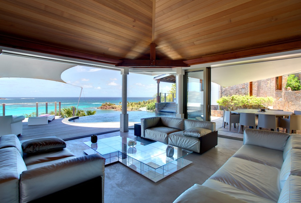 Villa Indian Song - 5 Bedroom Villa for Rent St Barth with Jacuzzi - Main Area