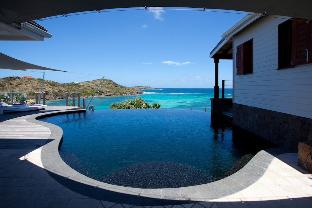 Villa Indian Song - 5 Bedroom Villa for Rent St Barth with Jacuzzi - Pool