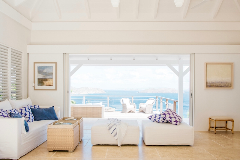 Villa Marie - Isolated Villa for Rent St Barth Perfect for Guests Looking for Privacy and Calm - Main area