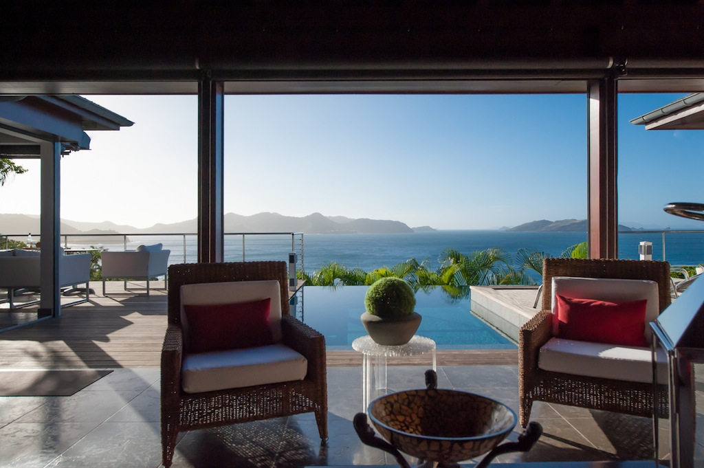Villa Pastel - Modern Villa Rental St Barth Pointe Milou with Privacy and Tranquility - Seaview