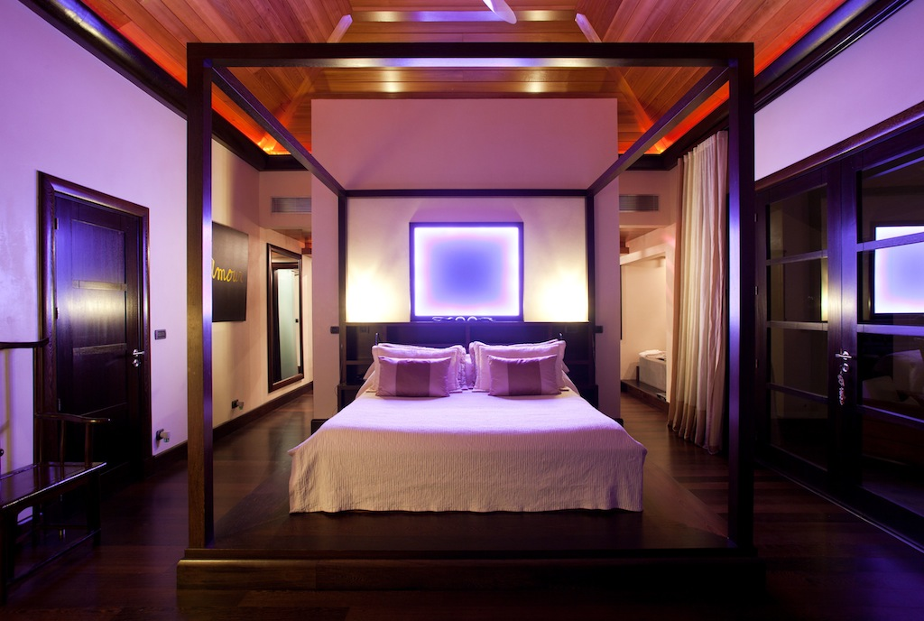 Villa Silver Rainbow - Modern Villa Rental St Barth with a Vast Garden - Bedroom